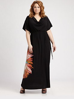 Melissa Masse, Salon Z - Jersey Sunburst Dress
