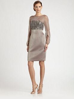 Kay Unger - Jeweled Bodice Dress