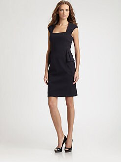Kay Unger - Peplum Dress