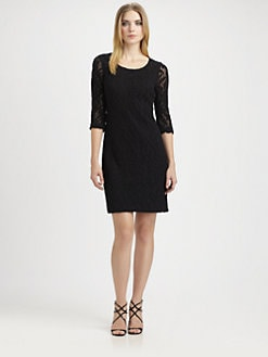 Kay Unger - Lace Dress