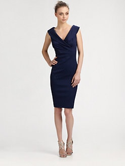 Kay Unger - Portrait Collar Dress