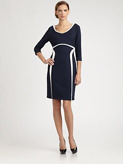 Kay Unger - Two-Tone Dress