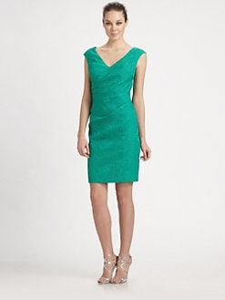 Kay Unger - Jacquard Dress