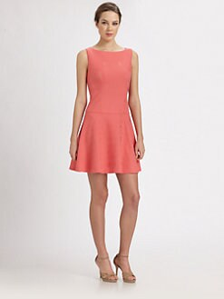 Kay Unger - Fit-And-Flare Dress