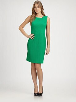 Kay Unger - Treebark Knit Dress