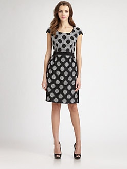 Kay Unger - Dot Dress