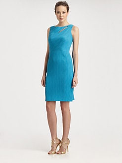 Kay Unger - Slash-Neck Dress