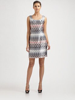Kay Unger - Printed Dress