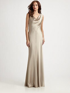 Kay Unger - Beaded-Back Gown