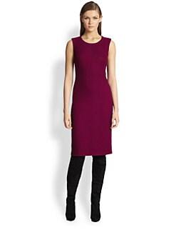 St. John - Chevron Calvary Twill Dress