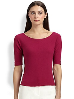 St. John - Stretch Cashmere Sweater