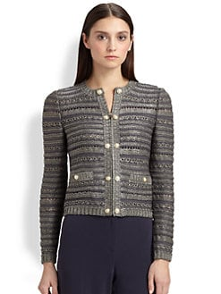 St. John - Astor Tweed Cropped Jacket