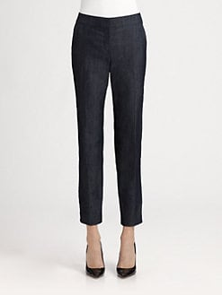 St. John - Denim Emma Pants