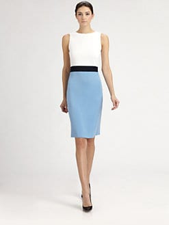 St. John - Colorblock Dress