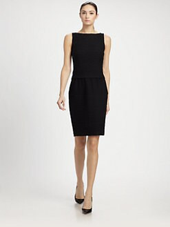 St. John - Shantung Knit Dress