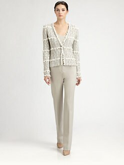 St. John - Tweed Knit Jacket