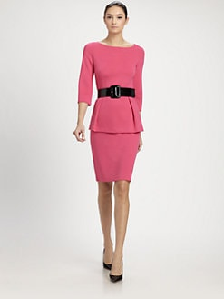 St. John - Milano Knit Pencil Skirt
