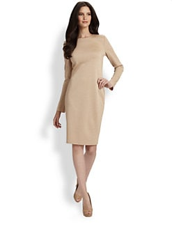 St. John - Milano Wool Dress