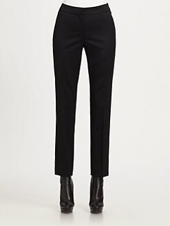 St. John - Venetian Stretch Wool Pants