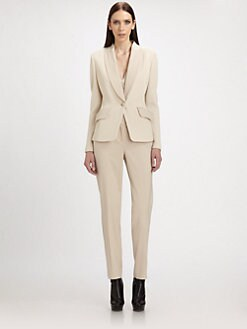 St. John - Piqu&eacute; Knit Blazer
