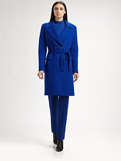 St. John - Doubleface Wool/Cashmere Coat