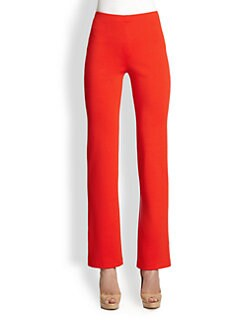 St. John - Stretch Knit Pants