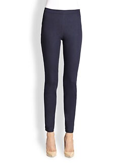St. John - Stretch Denim Leggings