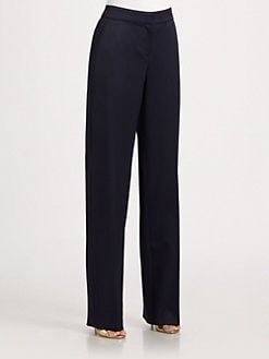 St. John - Stretch Wool Shelley Pants