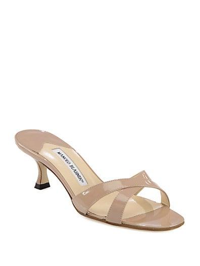 988fedca7539ea Manolo Blahnik Callamu Patent Leather Sandals on PopScreen