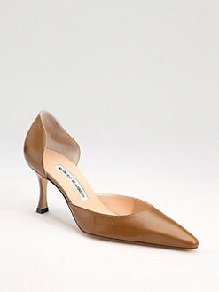 Manolo Blahnik - Carolyndo Point-Toe d'Orsay Pumps