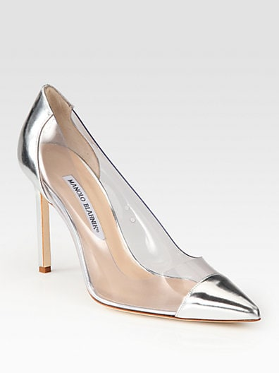 Pacha Translucent Patent Leather Pumps