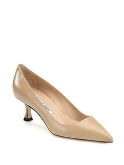 Manolo Blahnik - BB Leather Pumps