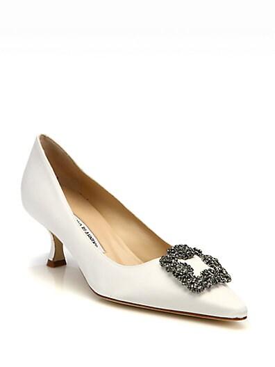 kitten heels manolo blahnik