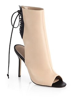 Manolo Blahnik - Bellantomod Leather Ankle Boots