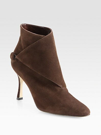 Diaz Suede Ankle Boots