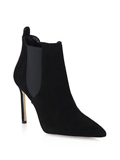 Manolo Blahnik - Tungade Suede Ankle Boots