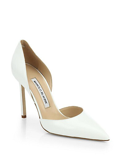 Tayler Patent Leather d'Orsay Pumps