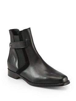 Manolo Blahnik - Artsa Leather Ankle Boots