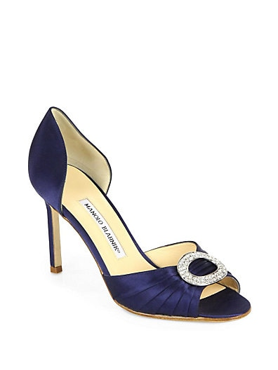 Sedarby Satin d'Orsay Pumps