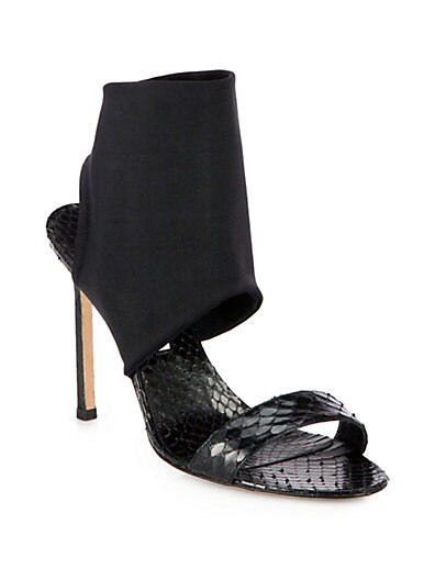 Sacco Snakeskin Sandals
