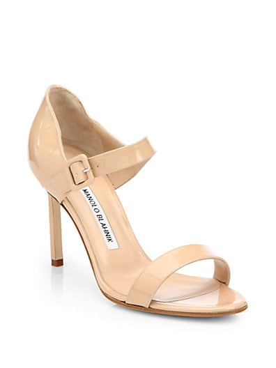 Nellang Patent Leather Mary Jane Sandals