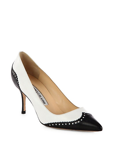 Ancor Spectator Leather Pumps