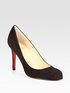 Christian Louboutin - Simple 100 Suede Pumps