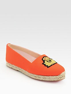 Christian Louboutin - Galia Canvas Espadrilles