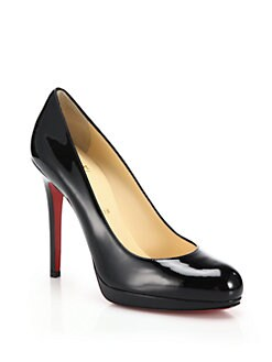 Christian Louboutin - New Simple Patent Leather Pumps