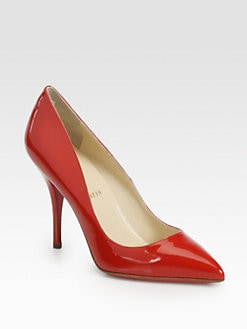 Christian Louboutin - Batignolles Patent Leather Pumps