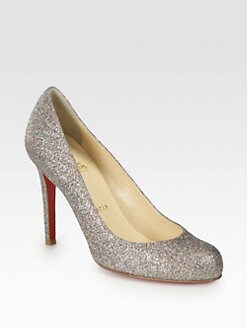 Christian Louboutin - Simple 100 Glitter Pumps