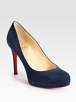 Christian Louboutin - New Simple 100 Suede Pumps