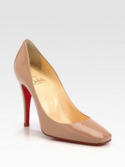 Christian Louboutin - Particule Patent Leather Pumps