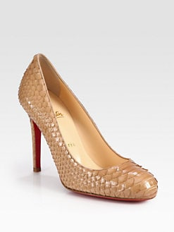 Christian Louboutin - Simple 100 Python Pumps